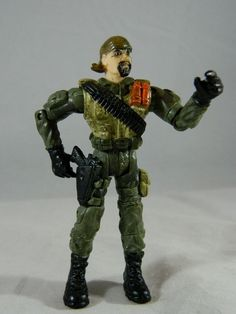 """Lanard The Corps Force Commando Soldier 3.75"""" Military Action Figure #Lanard"""