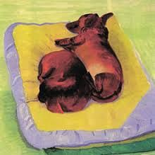 David Hockney paintings of dogs - Hledat Googlem