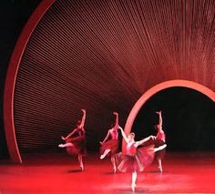 • New York City Ballet Set • Santiago Calatrava + Peter Martins