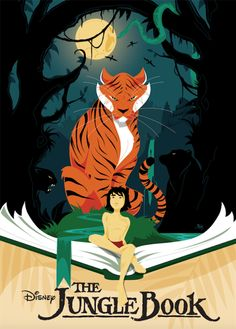 """the jungle book"" official posters 
