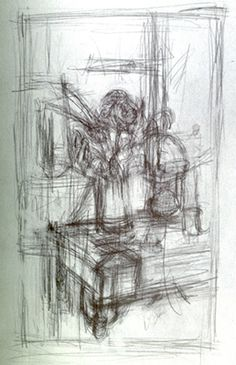 Giacometti gesture drawing, still life Gesture Drawing, Line Drawing, Drawing Sketches, Art Drawings, Sketching, Still Life Artists, Life Drawing Classes, Drawing Course, Still Life Drawing