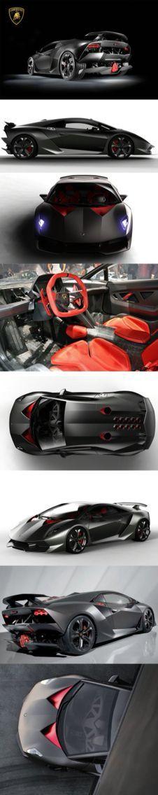 #Lamborghini Sesto Elemento