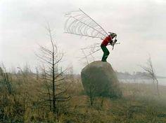 "Janne Lehtinen   ""Fly"" from the serie Sacred bird  2003"