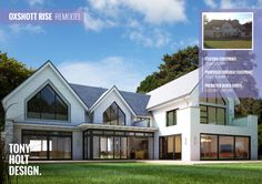 Maximise the value of your home - Tony Holt Design remodel of existing house in exclusive private estate.