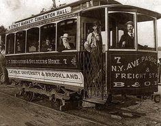 Street car, Washington, D.C. It was made in 1890.