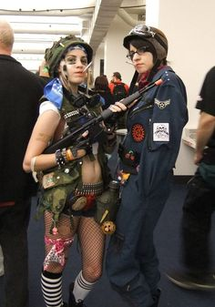 Tank Girl and Jet Girl cosplay by ~Shiroyuki9 on deviantART