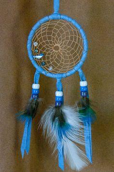 Bluebird Blue Dreamcatcher