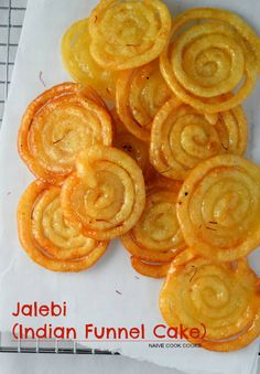 Jalebi (Indian Funnel Cake)