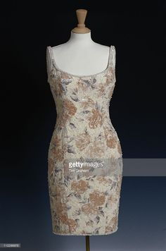Dress, designed by Catherine Walker, for Diana, Princess of Wales, on display at… Princess Diana Dresses, Princess Diana Fashion, Yvonne De Carlo, Catherine Walker, Lady Diana Spencer, Glamour, Queen, Princess Of Wales, Royal Fashion