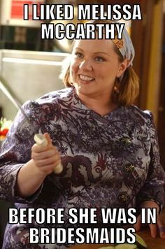 Yeah, I used to love her as Sookie on Gilmore girls