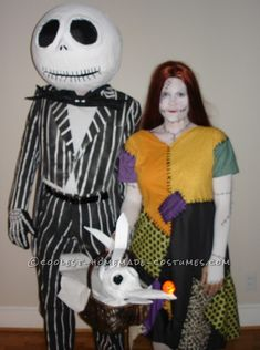 Coolest Nightmare Before Christmas Couple Costume...