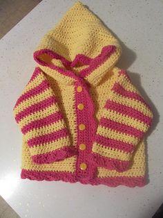 Sweet Baby Hoodie: free pattern
