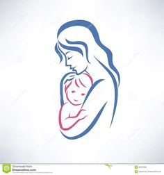 Find Mother Son Vector Symbol stock images in HD and millions of other royalty-free stock photos, illustrations and vectors in the Shutterstock collection. Thousands of new, high-quality pictures added every day. Celtic Tattoo Symbols, Estilo Tribal, Mother Son Tattoos, Baby Silhouette, Tattoo For Son, Baby Tattoos, Nursing Tattoos, Tatoos, Baby Drawing