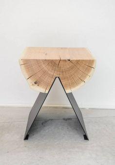Teor Kenar Kütük Sehpa (Zeytin Ağacı Kökü) - Odywood