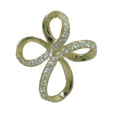 Cross with 0.15 Cttw. Diamonds https://www.goldinart.com/shop/necklaces/diamond-necklaces/cross-with-0-15-cttw-diamonds #14KaratYellowGold, #Cross