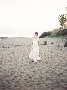 Beach elopement inspiration by Joseba Sandoval