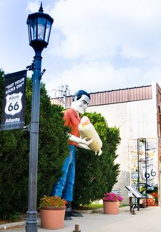 Route 66 Atlanta Illinois
