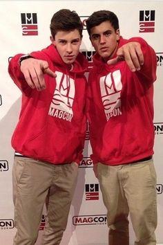 Shawn and jack twinning