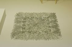 artwork made from staples! so cool and modern! love