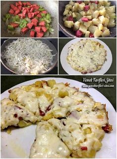 Kahvaltılık Patates Kavurma Tarifi – Kahvaltılıklar – Las recetas más prácticas y fáciles Turkish Recipes, Italian Recipes, Ethnic Recipes, Turkish Breakfast, Turkish Kitchen, Fish And Meat, Breakfast Potatoes, Best Breakfast Recipes, Breakfast Cooking