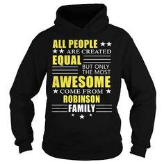 Cool ROBINSON Awesome ROBINSON Family tee shirts Shirts & Tees