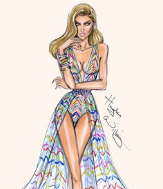 'Technicolor Dream' by Hayden Williams| Be inspirational ❥|Mz. Manerz: Being well dressed is a beautiful form of confidence, happiness politeness