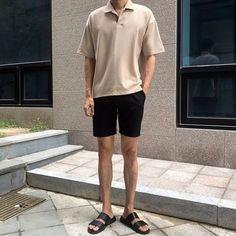 Fashion Model Men Menswear Street Styles 55 New Ideas Korean Fashion Men, Korea Fashion, High Fashion, Stil Inspiration, Warm Weather Outfits, Fresh Outfits, Denim Jacket Men, Korean Outfits, Looks Style