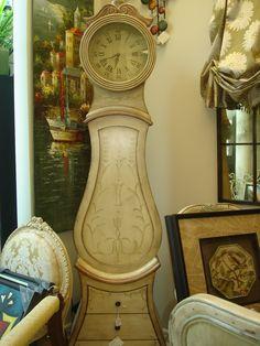 grandfather clock with storage