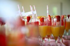 Create your own mimosa bar.