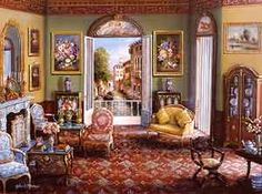 Venetian Interior- John Patrick O'Brien  June 2, 1951 – October 24, 2004