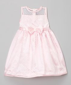 This Fairy Tale Solid Bow A-Line Dress - Toddler & Girls by Penelope Mack is perfect! #zulilyfinds