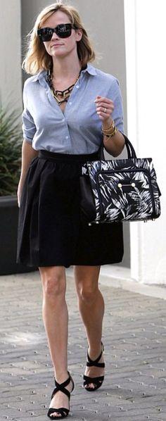 Preppy chic, new Chanel print bag