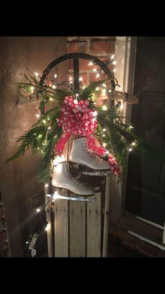 christmas are you ready pinterest christmas christmas decorations and christmas sled