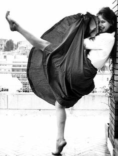 Kick up your heels, twirl your skirt & enjoy every moment of every day while you can.  Claudia Cardinale
