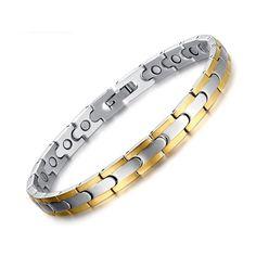 Pure Copper Magnetic Bracelet Arthritis Thérapie énergétique Hommes Femmes Élégant Bijoux