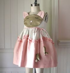 Cat and Mouse Storybook Dress