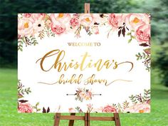 Please review all the designs for: Welcome sign Bridal Shower: https://www.etsy.com/shop/aquariusds?ref=hdr_shop_menu§ion_id=19455215 Bridal Shower Welcome Sign. Bridal Shower sign, Bridal Shower decoration DIGITAL FILE - simply print it, put it in a frame and its ready to go! You can either hang it by the seats or place it on a table. Let you guest know where to share their photos of you special day! DETAILS Please send in the Notes to seller upon check out -Br...