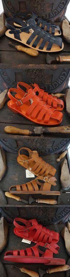 Modello San Gimignano #blu scuro #arancio #orange #Night Blue #cuoio #rosso #leather #red #models San Gimignano