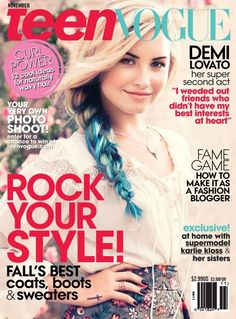 Cover of teen magazine