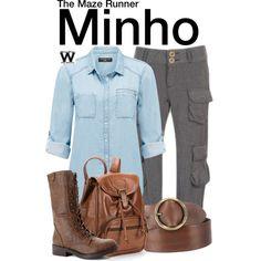 Inspired by Ki Hong Lee as Minho in The Maze Runner film franchise.