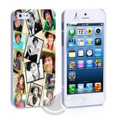 Harry Styles Collage One iPhone 4, 4S, 5, 5C, 5S Samsung Galaxy S2, S3 – iCasesStore