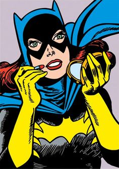 Illustration of Batgirl based on this panel from Detective Comics Vol 1 #371 (1968)