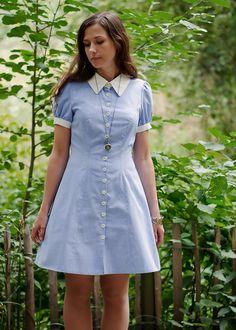 robe bleuet