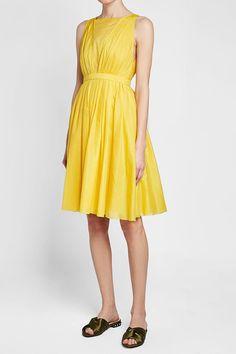 N°21 - Cotton Dress | STYLEBOP Yellow Fashion, N21, Cotton Dresses, Summer Dresses, Yellow Style, Shopping, Women, Clothing, Summer Sundresses
