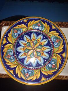 Geometrico small plate