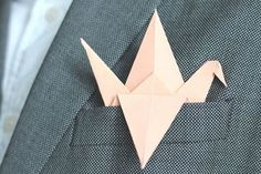 Men's Style Mistake - Wearing A Pocket Square That Is folded too fussily