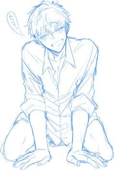 ひたろ (@taro_rss) / Twitter Anime Drawings Sketches, Anime Sketch, Cute Drawings, Figure Drawing Reference, Drawing Reference Poses, Female Pose Reference, Hand Reference, Drawing Base, Manga Drawing