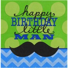 Bag-of-Chips Large Happy Birthday Little Man Napkins   Shop Hobby Lobby