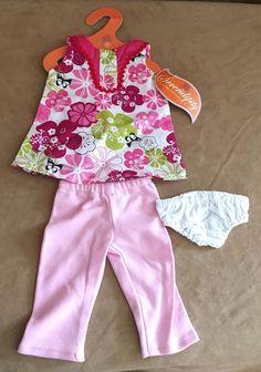 "Pants shirt The Serendipity Doll Co Fits 18"" American Girl Doll Battat clothing #Serendipitydollcompany"
