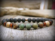 Bracelet pour hommes pile Bracelet Bracelet de par StoneWearDesigns